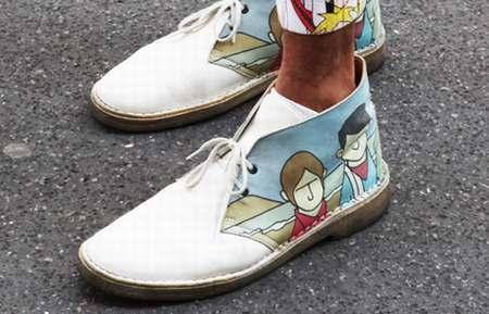 656a8c1b058 chaussure imitation clarks wallabee