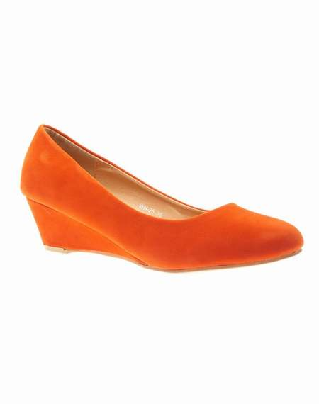 chaussures texto orange. Black Bedroom Furniture Sets. Home Design Ideas