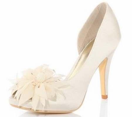 chaussures ivoire mariagechaussures ceremonie fille ivoirechaussures ivoire satin - Besson Chaussures Mariage